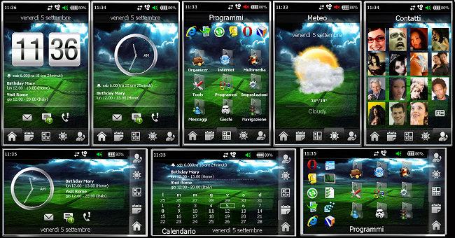 Несколько тем для samsung i900.